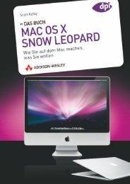 Mac OS X Snow Leopard 'Das Buch'  - *ISBN 978-3 ...
