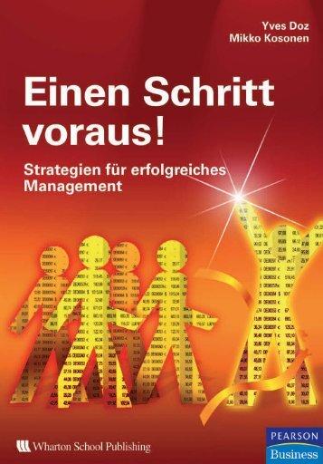 Einen Schritt voraus!  - *ISBN 978 ... - Informit.de