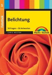 Fotothek 1: Belichtung  - *ISBN 978-3-8272-4557-1 ...