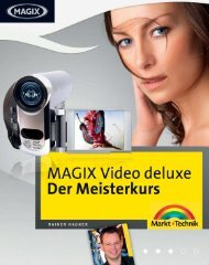 MAGIX Video deluxe 'Der Meisterkurs'  - *ISBN 978-3 ...