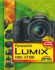 Panasonic Lumix DMC-FZ100  - *ISBN 978-3-8272 ...