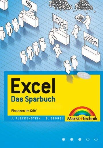 Excel – Das Sparbuch  - *ISBN 978-3-8272-4361-4 ...