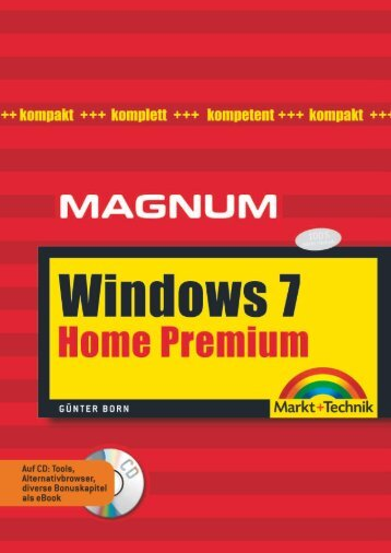 Windows 7 Home Premium  - Markt und Technik