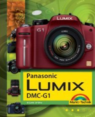 Panasonic Lumix DMC-G1  - *ISBN 978-3-8272-4454 ...