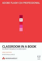 Adobe® Flash CS4 Professional  - *ISBN 978-3-8273 ...