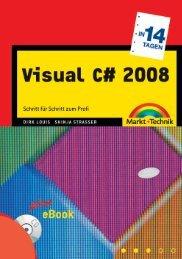 Visual C# 2008 in 21 Tagen  - *ISBN 978-3-8272-4521 ...