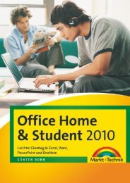 Office Home & Student 2010 - Pearson Schweiz AG