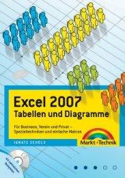 Excel 2007 - Tabellen und Diagramme - ISBN 978-3-8272-4303-4 ...