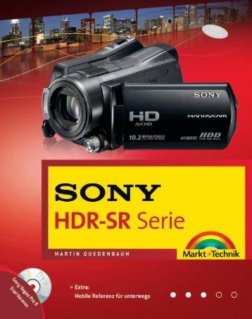 SONY HDR-SR Serie - Markt und Technik