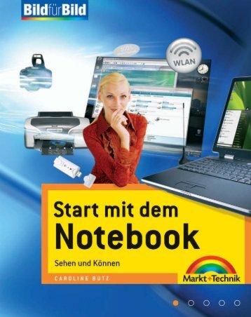 Start mit dem Notebook  - *ISBN 978-3-8272 ...