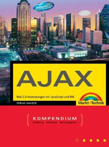 Das AJAX Kompendium  - *ISBN 978-3-8272-4418-5 ...