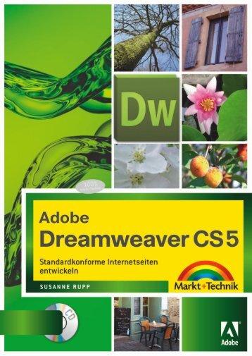 Adobe Dreamweaver CS5  - *ISBN 978-3-8272 ...