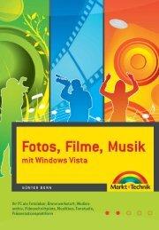Fotos, Filme, Musik mit Windows Vista  – *ISBN 978-3 ...