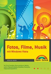 Fotos, Filme, Musik mit Windows Vista  – *ISBN 978-3 ...