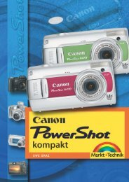 Canon PowerShot kompakt - Markt und Technik