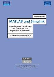 MATLAB und Simulink '3. überarbeitete Aufl.' - *ISBN: 3-8273-7206 ...