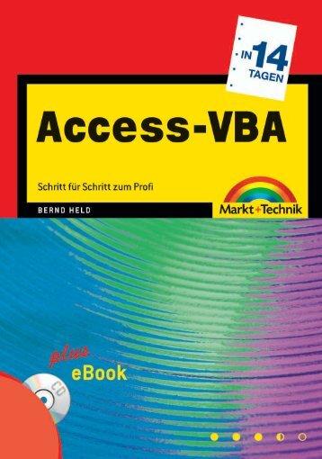 Access-VBA in 14 Tagen  - Markt und Technik