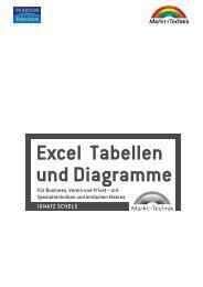 Excel Tabellen und Diagramme - Markt und Technik