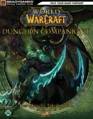 Dungeon Companion II - World of Warcraft  - *ISBN ...