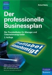 Der professionelle Businessplan - Pearson Schweiz AG