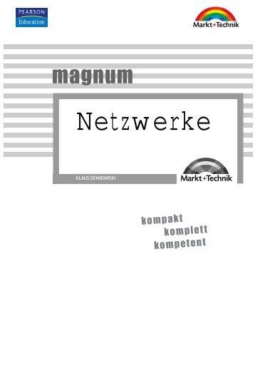Netzwerke 'magnum' 2. Auflage  - ISBN 3-8272-4073-5 ...