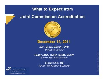 What is Accreditation? - Joint Commission