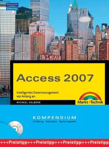 Access 2007 Kompendium  - *ISBN 978-3-8272-4171 ...