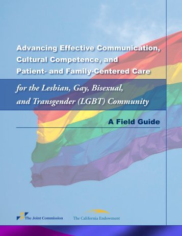 Advancing Effective Communication, Cultural ... - Joint Commission