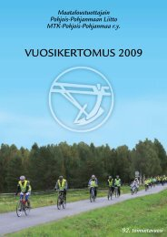 VUOSIKERTOMUS 2009 - MTK