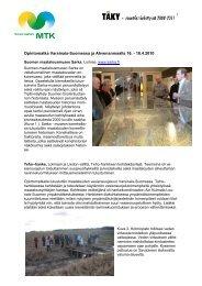 Matkaraportti (Ahvenanmaa, huhtikuu 2010) [pdf, 2,6 mt] - MTK
