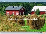 Sijoitusvinkit säästävälle maatilalle [pdf, 803 kt] - MTK