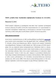 Opintomatka Tanskaan kevät 2011 - MTK