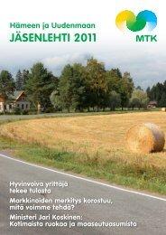 Jäsenlehti 2011 [pdf, 4,8 mt] - MTK