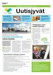 Uutisjyvät 1/2013 - MTK