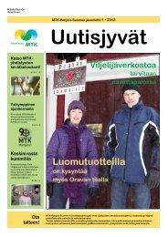 Uutisjyvät 1/2012 - MTK