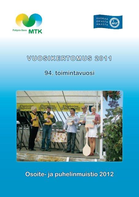 Vuosikertomus2011.pdf - MTK