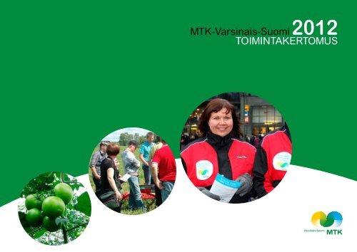 Toimintakertomus 2012 [pdf, 4,8 mt] - MTK