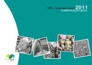 Toimintakertomus 2011 [pdf, 7,6 mt] - MTK