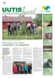 UutisJyvät 2/2010 - MTK
