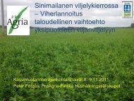 Sinimailasesta, Peter Fritzen, Suomen Talousseura [pdf, 6,8 mt] - MTK