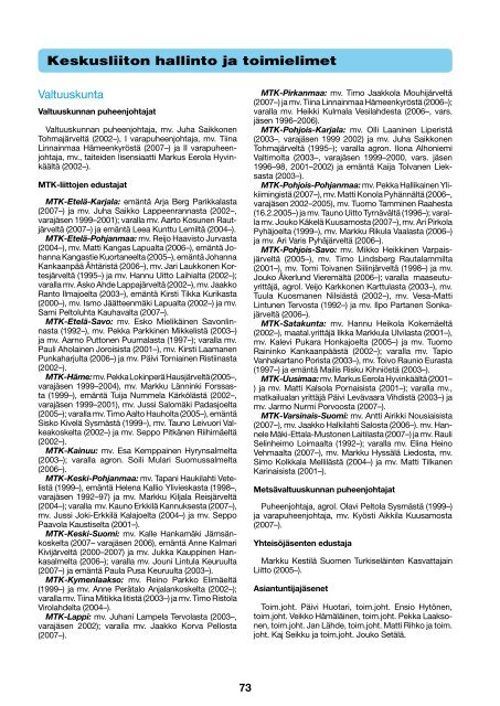 Keskusliiton hallinto ja toimielimet [pdf, 178 kt] - MTK