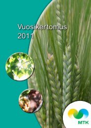 Vuosikertomus 2011 - MTK
