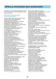 MTK:n ja Viestilehdet Oy:n toimihenkilöt [pdf, 81 kt]