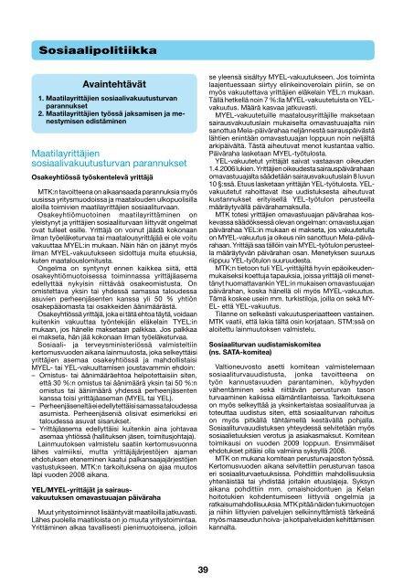 Sosiaalipolitiikka [pdf, 106 kt] - MTK