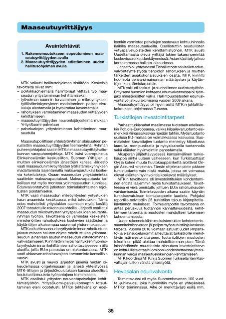 yrittäjyys, alue- ja maaseutupolitiikka sekä huoltovarmuus [pdf ... - MTK