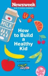 How to Build a Healthy Kid - National Dairy Council