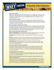 Frequently Asked Questions - New England Dairy & Food Council