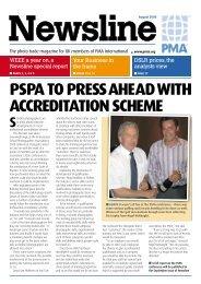 PSPA TO PRESS AHEAD WITH ACCREDITATION SCHEME