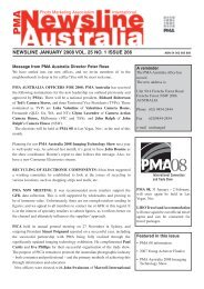 NEWSLINE JANUARY 2008 VOL. 25 NO. 1 ISSUE 266