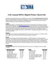 11th Annual DIMA Digital Printer Shoot-Out
